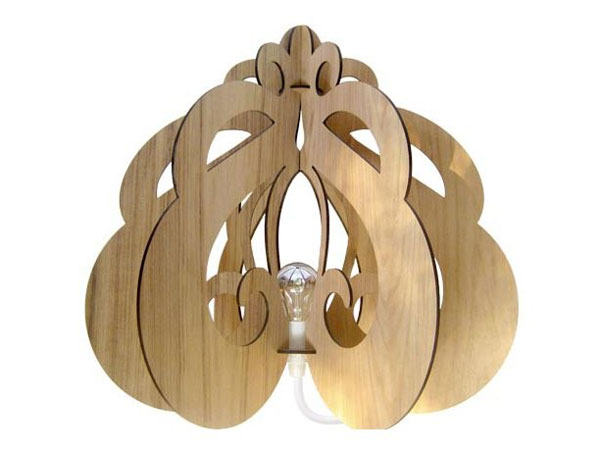 Bamboo lamps